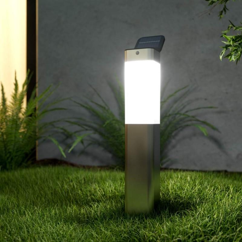 Kodiak Solcellslampa till trädgården, med sensor, på spjut