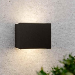 avon solcelle væglampe aluminium