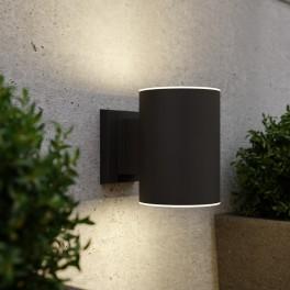 Grantham solcelle væglampe