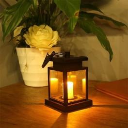 """Egholm lanterna med solceller och """"stearinljuseffekt"""""""