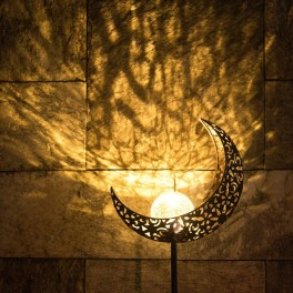 Nikini solcelle månelampe