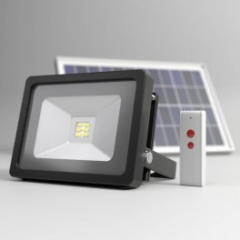 solcelle projektør fjernbetjening