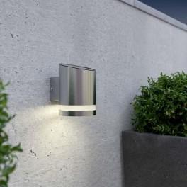 solcelle væglampe truro