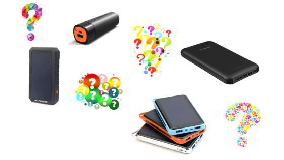 Powerbanks og batterier