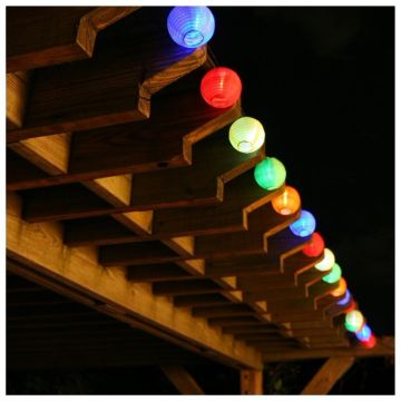 Solcelle lanterne kæde