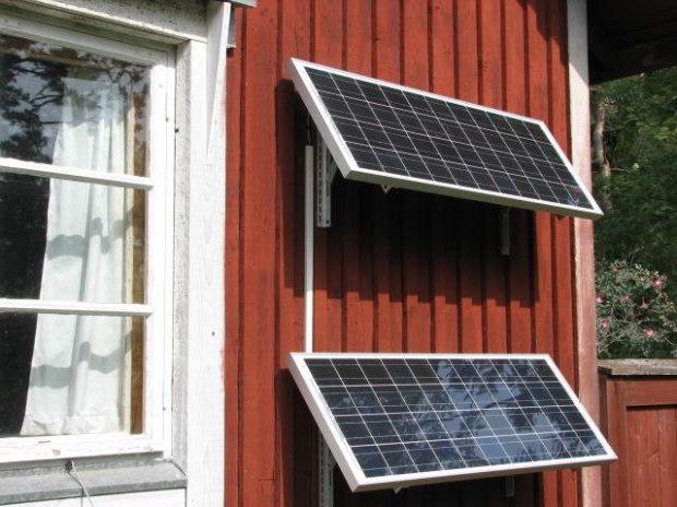 Solceller til konolihave